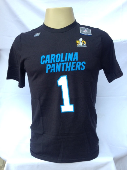 Camiseta algodão NFL Carolina Panthers / Newton