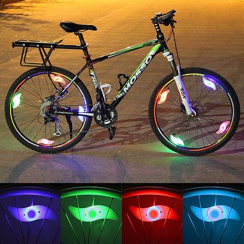Lampadas Led para Aro de Bicicleta (o par)