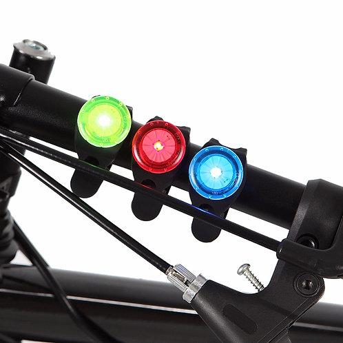 Luz Led Pisca para trazeira de Bike