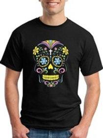 Camiseta algodão Skull