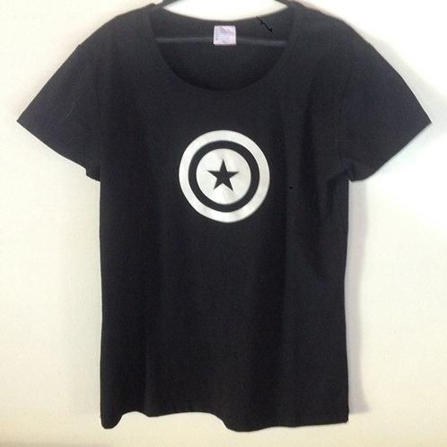 Camiseta com estampa Fluorescente
