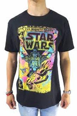 Camiseta Casual Algodão Estampa Star Wars