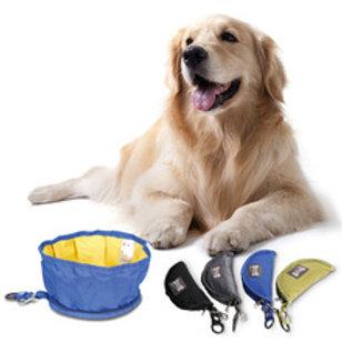 Bowl Portatil para passeios de Cães e Gatos