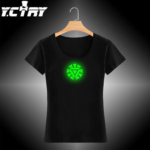 Camiseta YCTRY com estampa Neon IronMan