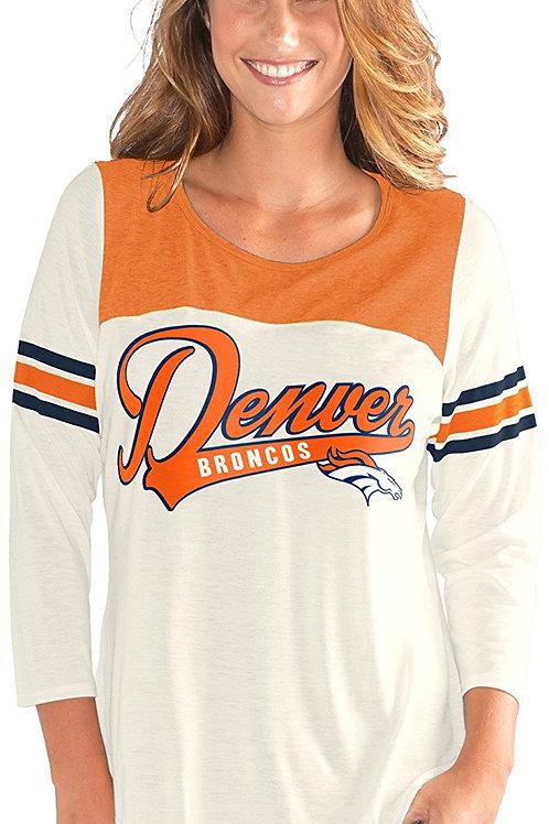Camisetas Oficiais NFL END ZONE 3/4 Vintage