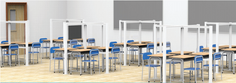classroom partitions