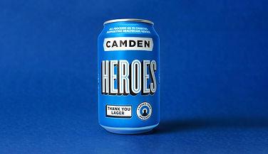 A can of Camden Heroes beer