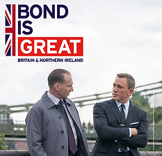 Poster created in support for the next Bond film premiere