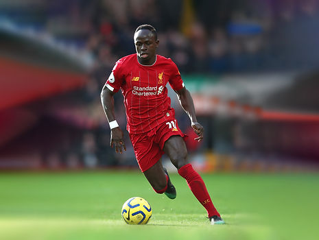 Premier League footballer Sadio Mané