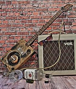 """Сигарбокс гитара """"Old Barrel"""""""