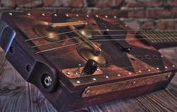 """Сигарбокс гитара """"Red Devil"""""""