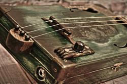 """Сигарбокс гитара """"Zombie"""""""