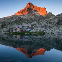 Pic Palas, Refuge d'Arremoulit, Pyrenees, France