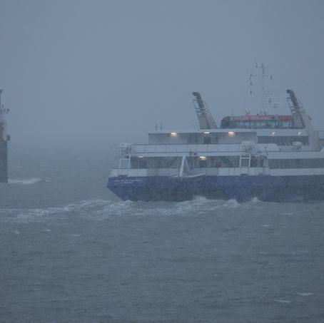 Ferry Vlissingen Breskens, Zeeuws-Vlaanderen, The Netherlands