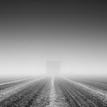 Barn in the Mist, Zeeuws-Vlaanderen, Netherlands, 2020
