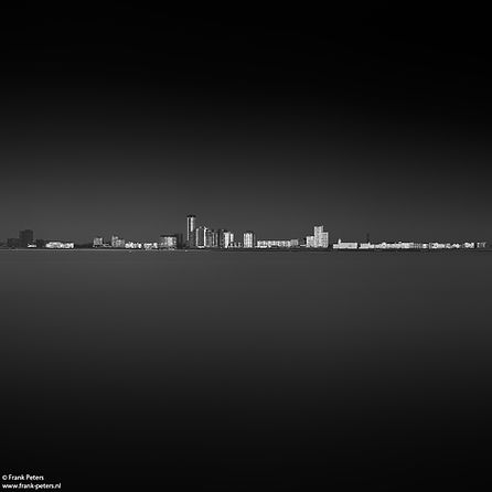 Skyline Vlissingen, landschapsfotografie
