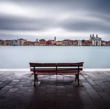 Skyline with Clouds, Venice, Italy