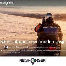 Sami cultuur in nieuw jasje, Reishonger