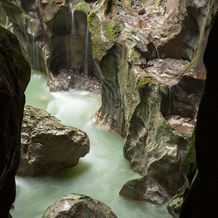 Gorge of the Devil's Bridge, Gorges du Pont du Diable, Chablais Geopark, France, 2013
