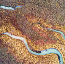 Creeks, Zeeland from above, Drone Photography, Netherlands