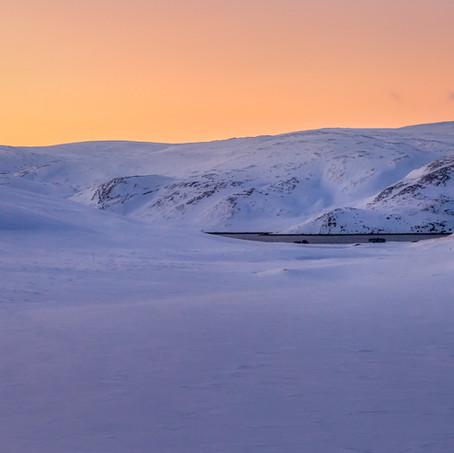 Landscape, North Cape, Finnmark, Norway