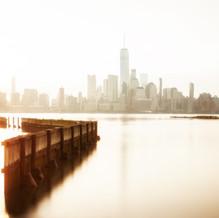 Golden Hour, Skyline New York, Manhattan, USA