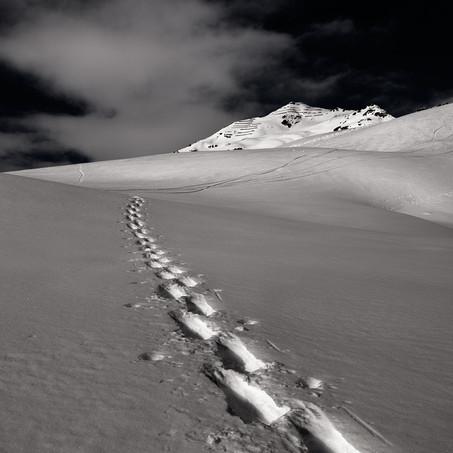 Track, Scuol, Unterengadin, Switzerland