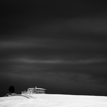 From Slide: Lonely at the Top, Tuscany, Italy, 2003