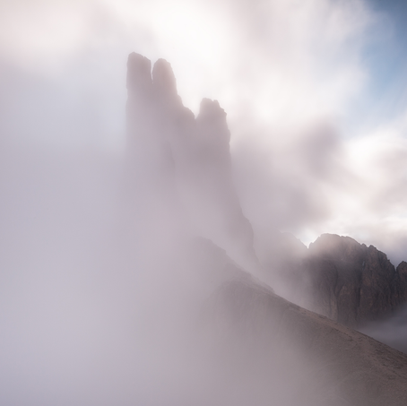 The Towers, Vajolet, Dolomites, Italy