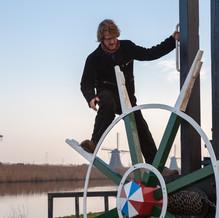 Miller, Kinderdijk, Zuid-Holland, The Netherlands