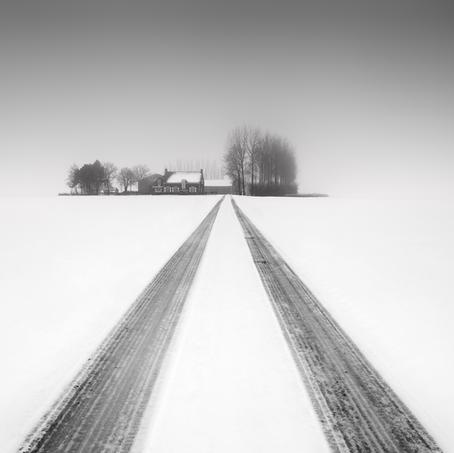 House in White, Zeeuws-Vlaanderen, Netherlands