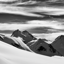 On the Way to the Top, Breithorn, Wallis, Switzerland, 2014