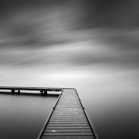 Jetty, Veerse Meer, Zeeland, Netherlands, 2020