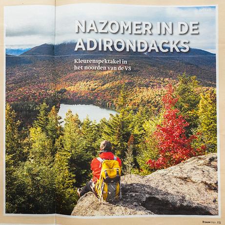Indian Summer Adirondacks, Trouw Magazine