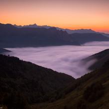 Pic du Baralet, Refuge du Larry, Pyrenees, France