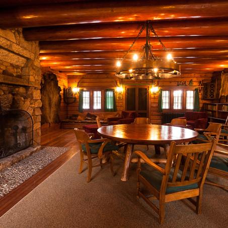 Living Room, Great Camp Sagamore, Adirondacks, USA