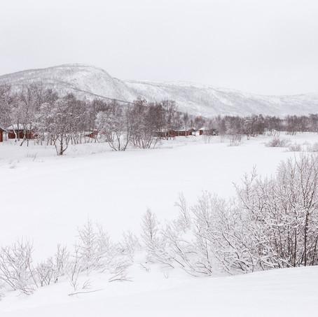 Utsjoki Winter Landscape, Lapland, Finland