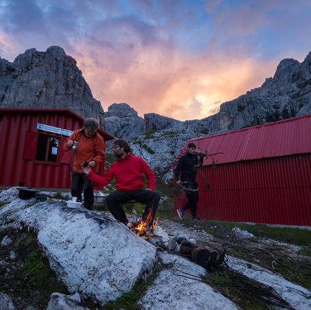 Coffee, Parco Nazionale delle Dolomiti Bellunesi, Dolomites, Italy