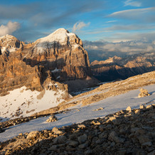 Tofanas Snow, Tofana di Rozes, Dolomites, Italy