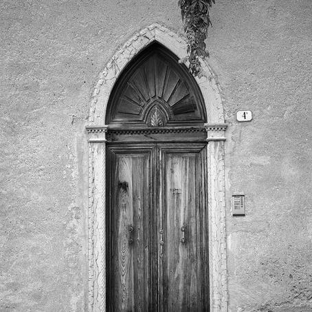 Old Door, Feltre, Dolomites, Italy, 2013