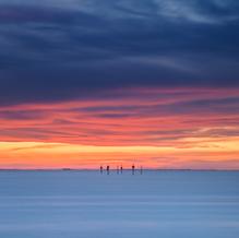 Dutch Sunset, Oesterdam, Zeeland, Netherlands, 2018