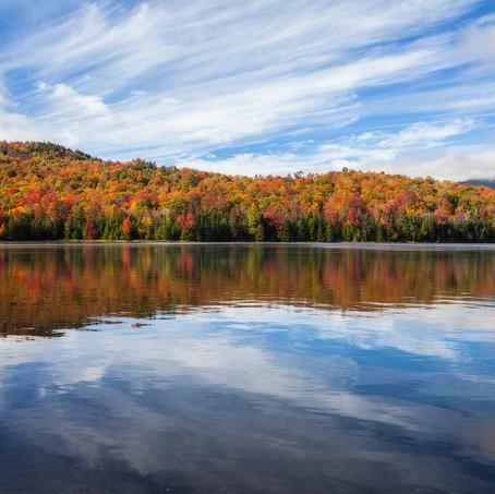 Colors of the Heart, Heart Lake, Adirondacks, USA
