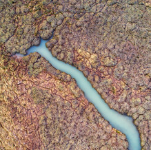 Creek II, Zeeland from above, Drone Photography, Netherlands
