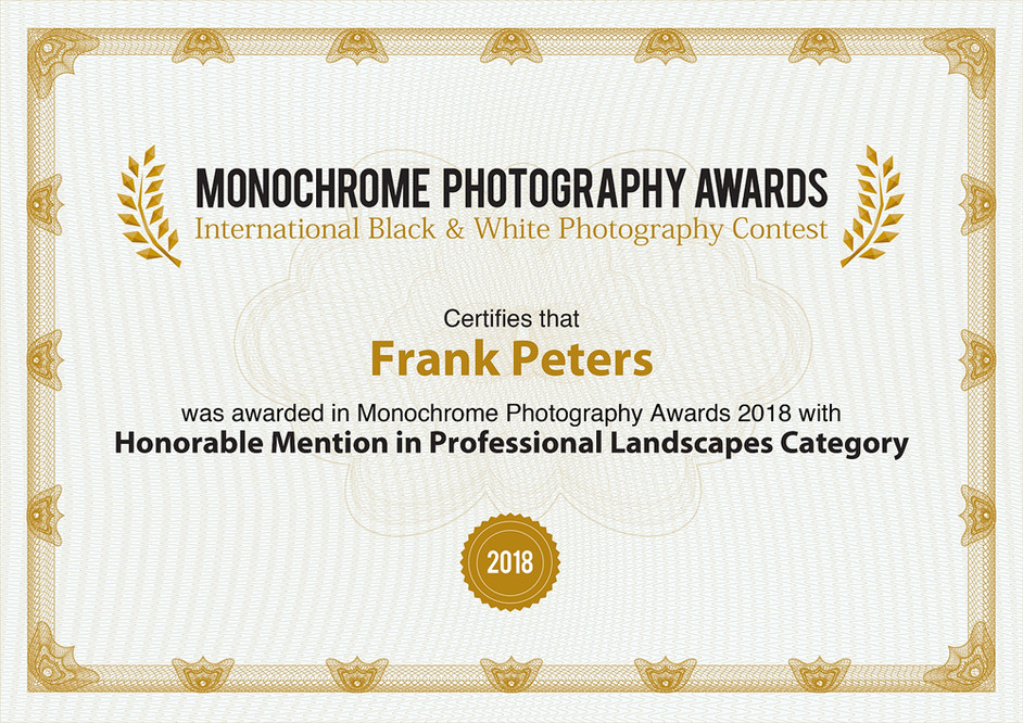 Honorable Mentions in Monochome Awards