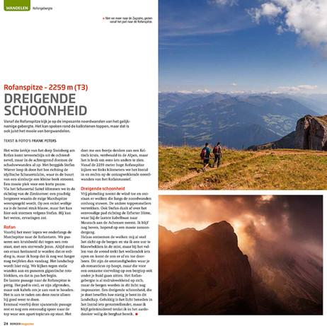 Rofanspitze, Bergen Magazine