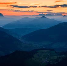 Sunrise from Gratlspitz, Tyrol, Austria