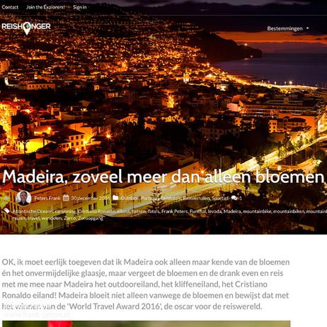 Madeira, Reishonger