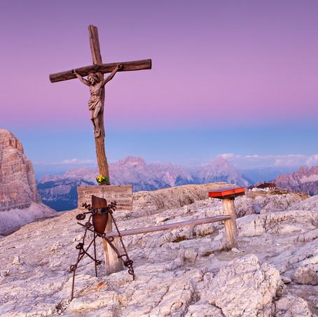 Purple Pain, Lagazuoi, Dolomites, Italy