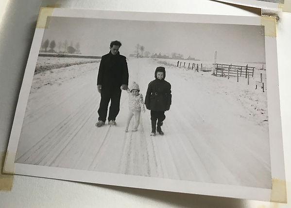 Uit het fotoboek van de familie Van der Hooft
