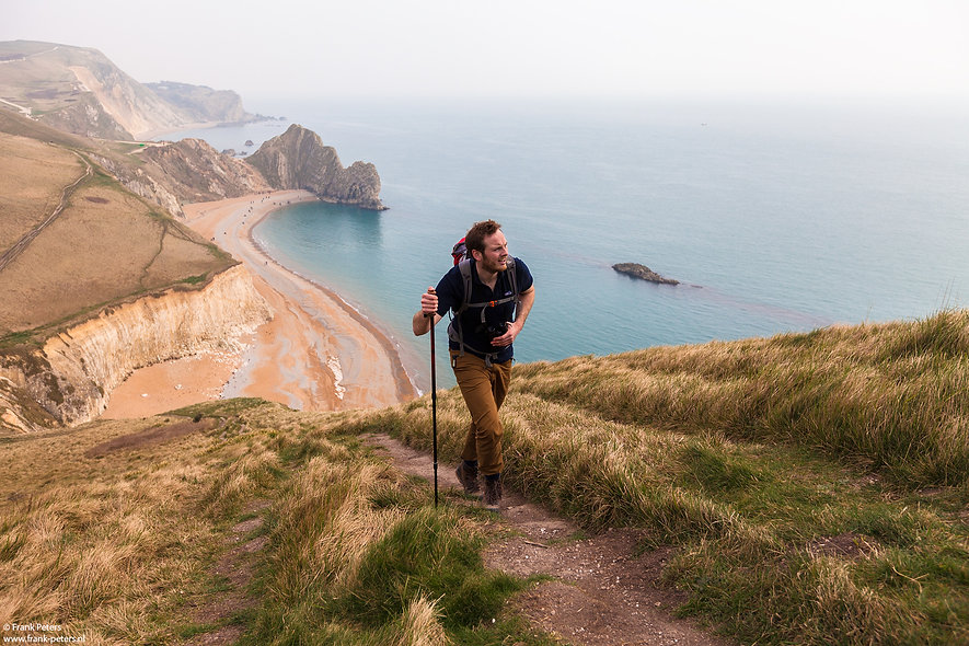 Jurassic Coast Ranger James Gale, Swyre
